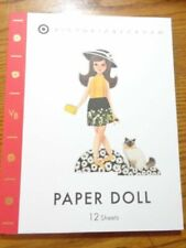 Target Victoria Beckham Paper Dolls Activity Book 12 Sheets