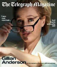UK Telegraph Magazine January 2019: GILLIAN ANDERSON COVER & FEATURE X-Files