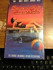 Desire and Hell at Sunset Motel (VHS, 1992) Paul Bartel, Sherilyn Fenn, David He