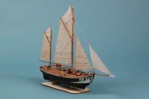 Maria HF 31 Ship IN Wood 1:72 Wooden Ship Model Kit Dusek
