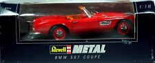 4 REVELL BMW 507 COUPE ROUGE TOIT NOIR N°8823