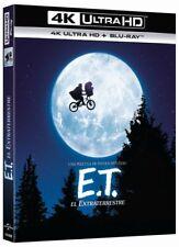 E. T. EL EXTRATERRESTRE ULTRA HD BLU RAY 4K + BLU RAY NUEVO ( SIN ABRIR ) STEVEN