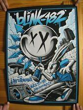 Blink 182 Poster Blink182 Blink-182 Brandon Heart March 20 2016 San Diego