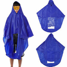 Waterproof Light Weight Rain Coat Mobility Scooter Hooded Cape Mac Poncho