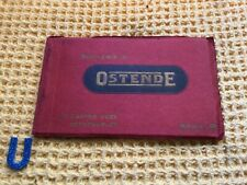 More details for antique early edwardian ostend postcard book