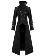 Punk Rave Scorpion Womens Coat Long Jacket Black Goth Steampunk Hooded Trench