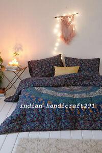Indian Mandala Duvet Doona Cover Bedding Blanket Queen Quilt Comforter Set Throw