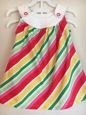 NWT Gymboree red yellow pink green 3-6 months baby girls dress long shirt