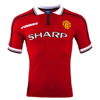 Manchester United Football Shirt 1999 Medium M