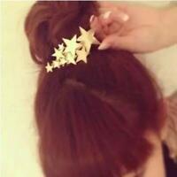 silber / gold - schmuck haarfärbemittel bobby pin star - haarspange spange