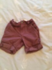 'NEXT - BOYS SHORTS in BROWN - SIZE 3yrs