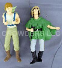 "Star Wars Classic Collector Series 10"" Vinyl Luke Skywalker w/ Yoda & Endor Leia"