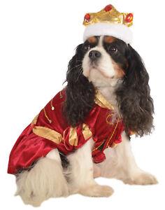 Kanine King Royal Prince Pet Dog Puppy Red Halloween Costume