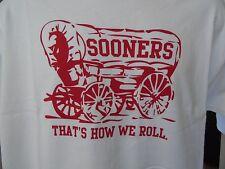 Oklahoma Sooners Tshirt Thats How We Roll Rivalry Bcs Big 12
