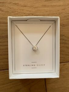 Next Sterling Silver Necklace