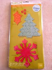 Accuquilt GO! Fabric Cuting Die - Holiday Medley 55043 NEW