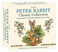 The Peter Rabbit Classic Collection : The Classic Edition Board Book Box Set by Beatrix Potter (2015, Children's Board Books)