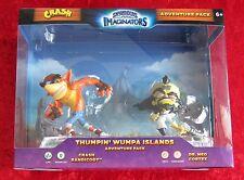 Thumpin Wumpa Islands Crash Bandicoot Adventure Pack, skylanders imaginators nuevo