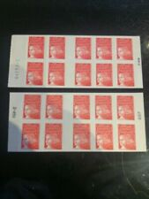 Timbres verts avec 2 timbres