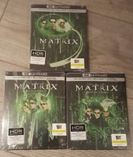 The Matrix Trilogy - Best Buy Exclusive Steelbook Set (Blu-ray + 4K UHD) NEW!!