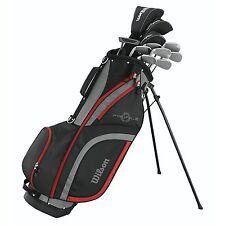 WILSON Profile XLS Men's RH Flex Graphite Steel Golf Club Stand Bag Package Set