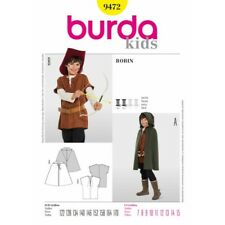 Burda Sewing Pattern 9472 Toddlers Child's Boys Robin Hood Costume Fancy Dress