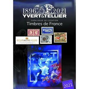 Yvert et Tellier TOME 1 2021 (Timbres de France) 125 ANS