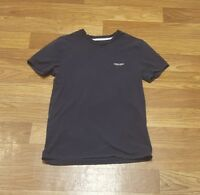 ARMANI EXCHANGE A/X EMBROIDERED WINGED LOGO  SMALL navy blue mens shirt t-shirt