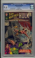 Tales to Astonish #86 CGC 9.6 NM+ Unrestored Marvel Hulk Sub-Mariner WHITE Pages