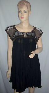 "SASS & BIDE   ""Part Of The Process""   Embellished Hand Beaded Mini Dress - Sz 6"
