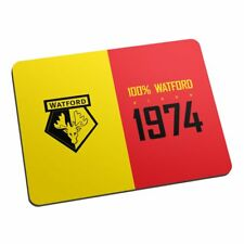Personalised Watford FC 100 Percent Mouse Mat Gift Fan Supporter
