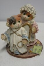 Enesco Calico Kittens - You've Earned Your Wings - Limited Edition