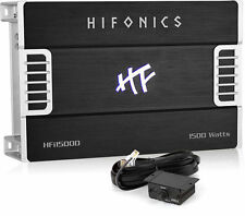 Hifonics HFi1500D 1500W RMS Monoblock Class D HFi Series Car Amplifier