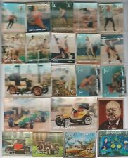A COLLECTION OF 132 DIFFERENT MNH THEMATIC 3D STAMPS BHUTAN YEMEN UMM AL QIWAIN.