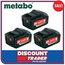 Metabo 18V Lithium-Ion Ultra Li-Extreme-Power 5.2Ah 3x Batteries - 3x6.25592