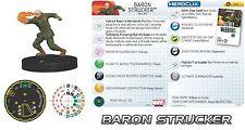 HeroClix Marvel Nick Fury/SHIELD Super Rare #060 Baron Strucker!!!!!