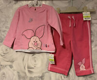 Girls Age 3-6 Months - BNWTS Piglet George Top & Bottoms