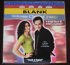 Grosse Pointe Blank Laser Disc John Cusack Minnie Driver Like New!