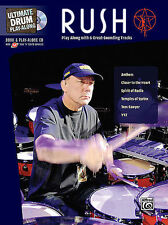 RUSH - NEIL PEART -  DRUM PLAY ALONG BOOK & CD NEW