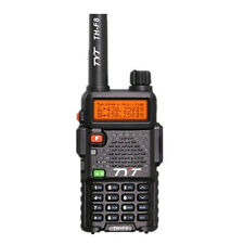 2 PCS 7W OUTPUT HIGH POWER TYT TH-F8 VHF Handheld Dual Display DTMF 2-Way Radio