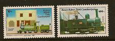 TURKISH CYPRUS :1986 Cyprus Railway  SG 202-3 unmounted mint