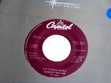 HUMAN BEINZ~NOBODY BUT ME~NEAR MINT~CAPITOL~~ NORTHERN SOUL 45