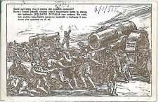 Italia Regno - FRANCHIGIA MILITARE : SOLDATO D'ITALIA firmata MAZZONI 1918