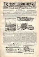 1896 Scientific American Supp April 25 - Leipzig Exposition birds eye view; Gems