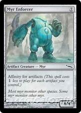 MYR ENFORCER Mirrodin MTG Artifact Creature — Myr Com
