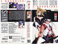VHS MANGA MOVIE-BATTLE ARENA TOSHINDEN ANIMATED/GUERRIERI-FILM ANIME INEDITO DVD