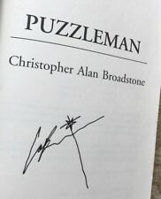 Puzzleman by Christopher Alan Broadstone  SIGNED (2004, Paperback)
