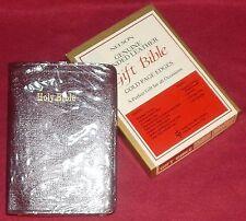 KJV Gift Bible by Nelson Publishing #275BG Burgundy Genuine Bonded Leather - New