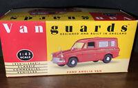 Lledo Vanguards 1:43 Scale Ford Anglia Van Royal Mail  VA 4000.  (Locsm2)