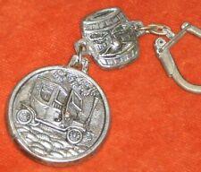 Porte-clé Key ring Vin VIEUX TONNEAU Personnage + TACOT 1900